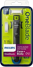 Fragrances, Perfumes, Cosmetics Face & Body Trimmer - Philips OneBlade Face + Body QP2620/20