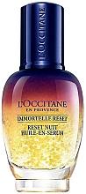 Fragrances, Perfumes, Cosmetics Night Face Elixir - L'Occitane Immortelle Overnight Reset Oil-In-Serum