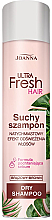 Fragrances, Perfumes, Cosmetics Dry Shampoo for Dark Hair - Joanna Ultra Fresh Hair Brown Dry Shampoo