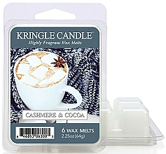 Fragrances, Perfumes, Cosmetics Scented Wax - Kringle Candle Cashmere & Cocoa Wax Melt