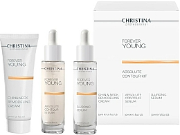 Fragrances, Perfumes, Cosmetics Set - Christina Forever Young (ser/30ml + ser/30ml + cr/50ml)