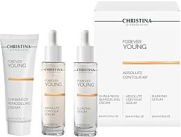 Fragrances, Perfumes, Cosmetics Set - Christina Forever Young (ser/30ml + ser/30ml + cr/50ml)