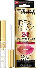 Fragrances, Perfumes, Cosmetics Lipstick Base - Eveline Cosmetics All Day Ideal Stay Lipstick Primer