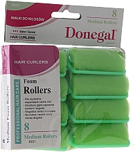 Fragrances, Perfumes, Cosmetics Hair Curlers 25 mm, 8 pcs - Donegal Sponge Curlers