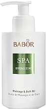 Fragrances, Perfumes, Cosmetics Massage & Bath Oil - Babor Energizing Massage & Bath Oil