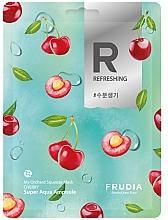 Fragrances, Perfumes, Cosmetics Smoothing Sheet Mask with Cherry - Frudia My Orchard Squeeze Mask Cherry