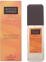 Fragrances, Perfumes, Cosmetics Legrain Royale Ambree - Eau de Cologne-Spray