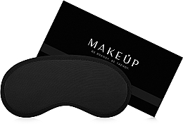 "Fragrances, Perfumes, Cosmetics Sleeping Mask, black ""Classic"" - MakeUp"