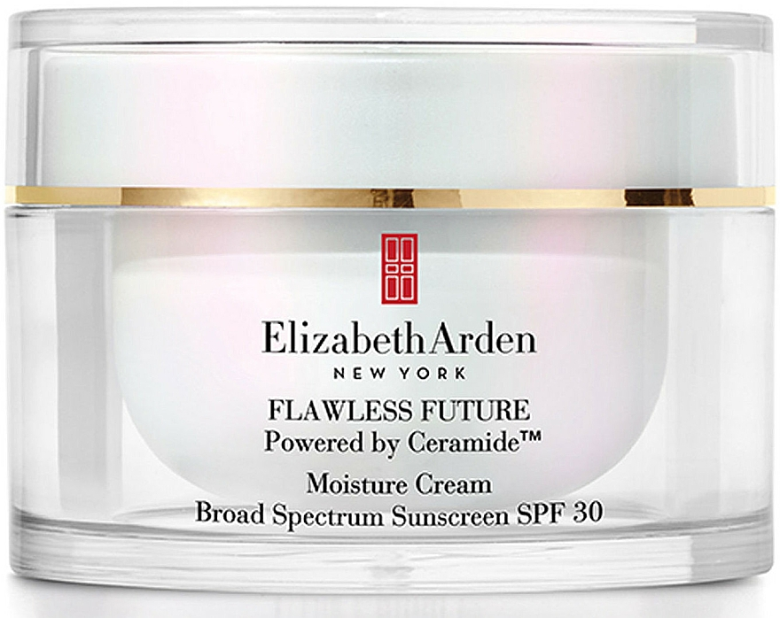 Moisturizing Face Cream - Elizabeth Arden Flawless Future Moisture Cream SPF30