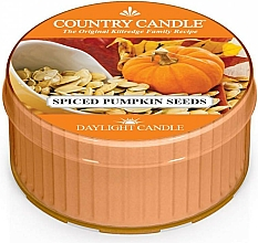 Fragrances, Perfumes, Cosmetics Tea Candle - Country Candle Spiced Pumpkin Seeds Daylight
