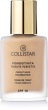 Fragrances, Perfumes, Cosmetics Foundation - Collistar Perfect Wear Foundation SPF 10