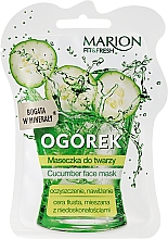 """Fragrances, Perfumes, Cosmetics Face Mask """"Cucumber"""" - Marion Fit & Fresh Cocumber Face Mask"""