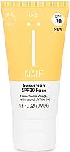 Fragrances, Perfumes, Cosmetics Face Sunscreen - Naif Sunscreen Face Spf30