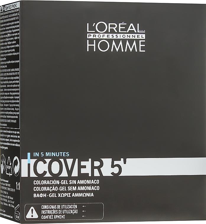 Hair Color Gel Set - L'Oreal Professionnel Cover 5