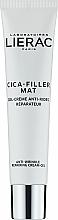 Fragrances, Perfumes, Cosmetics Anti-Aging Cream Gel for Face - Lierac Cica-Filler Mat Anti-Wrinkle Repairing Cream-Gel