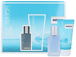 Fragrances, Perfumes, Cosmetics Mexx Ice Touch Woman - Set (edt/15ml + sh/gel/50ml)