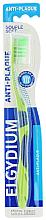 Fragrances, Perfumes, Cosmetics Anti-Plaque Toothbrush Soft, green - Elgydium Anti-Plaque Soft Toothbrush