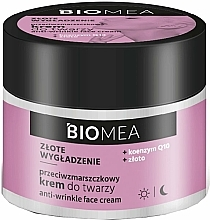 Fragrances, Perfumes, Cosmetics Anti-Wrinkle Face Cream - Farmona Biomea Anti-wrinkle Face Cream