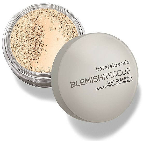 Face Loose Powder - Bare Escentuals Bare Minerals Blemish Rescue Skin-Clearing Loose Powder Foundation