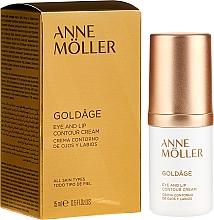 Fragrances, Perfumes, Cosmetics Eye and Lip Contour Cream - Anne Moller Goldage Eye and Lip Contour Cream