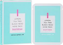 Fragrances, Perfumes, Cosmetics Cleansing Blackhead Strips - Borntree Lemon Teatree Black Head Nose Pack