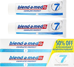 """Fragrances, Perfumes, Cosmetics Toothpaste """"Complex 7. Whitening"""" - Blend-a-Med Complete Protect 7 Crystal White Toothpaste"""