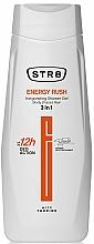 Fragrances, Perfumes, Cosmetics Shower Gel 3 in 1 - STR8 Energy Rush Invigorating Shower Gel 3 in 1