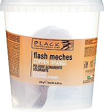 Fragrances, Perfumes, Cosmetics Coloring Powder - Black Professional LineFlash Meches