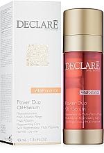 Fragrances, Perfumes, Cosmetics 2-Phase Repair Treatment - Declare Vital Balance Power Duo Oil+Serum