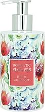 Fragrances, Perfumes, Cosmetics Liquid Cream Soap - Vivian Gray Romantic Flowers Cream Soap