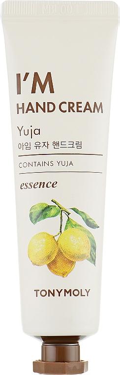 """Hand Cream """"Yuja"""" - Tony Moly I'm Hand Cream Yuja"""