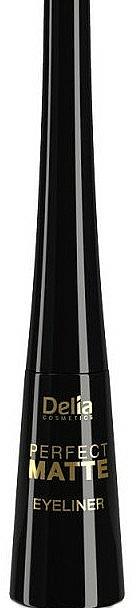 Matte Liquid Eyeliner - Delia Cosmetics Perfect Matte Eyeliner