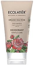 Fragrances, Perfumes, Cosmetics Gentle Care Deodorant - Ecolatier Organic Wild Rose Deodorant
