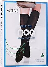 """Fragrances, Perfumes, Cosmetics Active Massage Knee-Highs """"Active"""" 20 Den, visione - Knittex"""