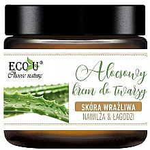 Fragrances, Perfumes, Cosmetics Aloe Face Cream - Eco U Aloe Face Cream