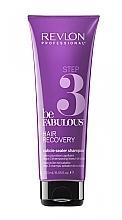 Fragrances, Perfumes, Cosmetics Cleansing Cuticle Sealer Shampoo, step 3 - Revlon Professional Be Fabulous Hair Recovery Cuticle Sealer Shampoo