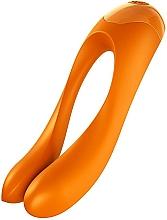 Fragrances, Perfumes, Cosmetics Finger Vibrator, orange - Satisfyer Candy Cane Finger Vibrator Orange