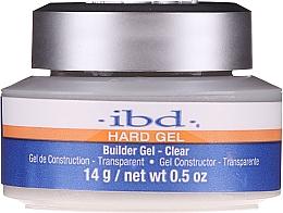 Fragrances, Perfumes, Cosmetics Builder Gel, transparent - IBD Hard Gel Builder Gel Clear