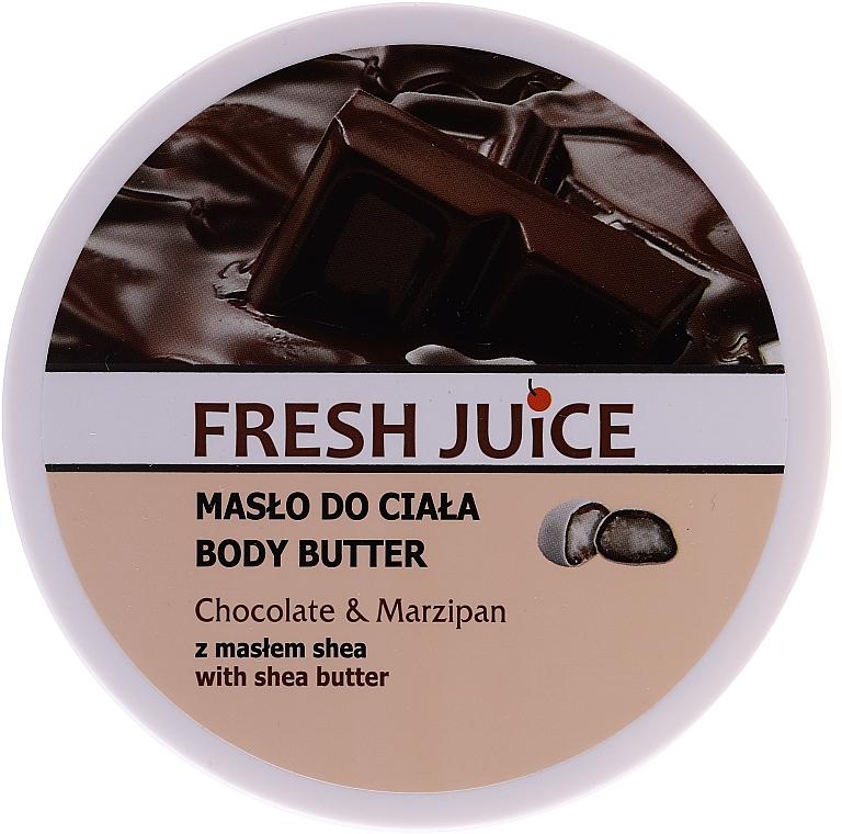 "Body Butter ""Chocolate & Marzipan"" - Fresh Juice Body Butter Chocolate & Marzipan With Shea Butter"