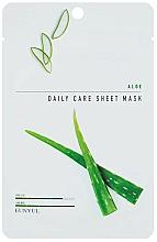 Fragrances, Perfumes, Cosmetics Moisturizing Aloe Facial Sheet Mask - Eunyul Daily Care Mask Sheet Aloe