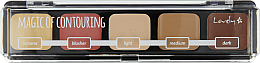 Fragrances, Perfumes, Cosmetics Contour Palette - Lovely Magic of Contouring