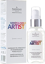 Fragrances, Perfumes, Cosmetics Cuticle Gel Remover - Farmona Hands and Nails Artist Express Softening Gel For Removing Cuticles