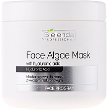 Fragrances, Perfumes, Cosmetics Alginate Face Mask with Hyaluronic Acid - Bielenda Professional Face Algae Mask with Hyaluronic Acid