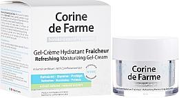 Fragrances, Perfumes, Cosmetics Refreshing Moisturizing Cream-Gel for Normal and Combination Skin - Corine de Farme