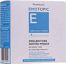 Fragrances, Perfumes, Cosmetics Dry & Atopic Skin Soap - Pharmaceris E Emotopic Soap