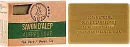 "Fragrances, Perfumes, Cosmetics Aleppo Soap ""Green Tea"" - Alepeo Aleppo Soap Green Tea 8%"
