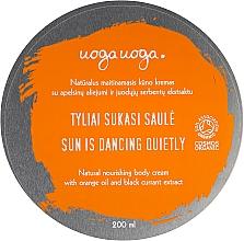 Fragrances, Perfumes, Cosmetics Moisturizing Body Cream with Orange Oil & Black Currant Extract - Uoga Uoga Moisturising Body Cream