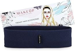 "Fragrances, Perfumes, Cosmetics Hair Band, dark blue ""Be Beauty"" - MakeUp"