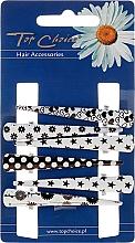 Fragrances, Perfumes, Cosmetics Hair Claws, 25020, black-white - Top Choice