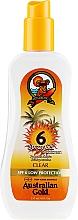 Fragrances, Perfumes, Cosmetics Sunscreen Gel Spray - Australian Gold Body Spray Gel SPF6